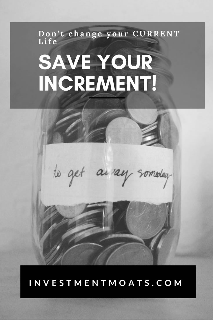 Saving your Increment