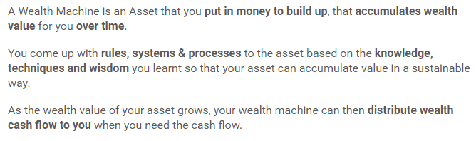 What are wealth machines