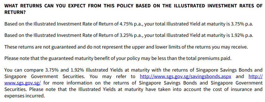 rate of return axa retire happy
