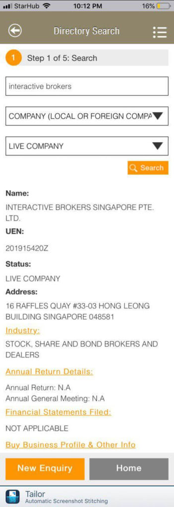 Interactive Brokers setting Up Singapore Offices